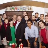 Schwabing-Alte Heides Neumitglieder mit Alt-OB Christian Ude und Florian Post MdB