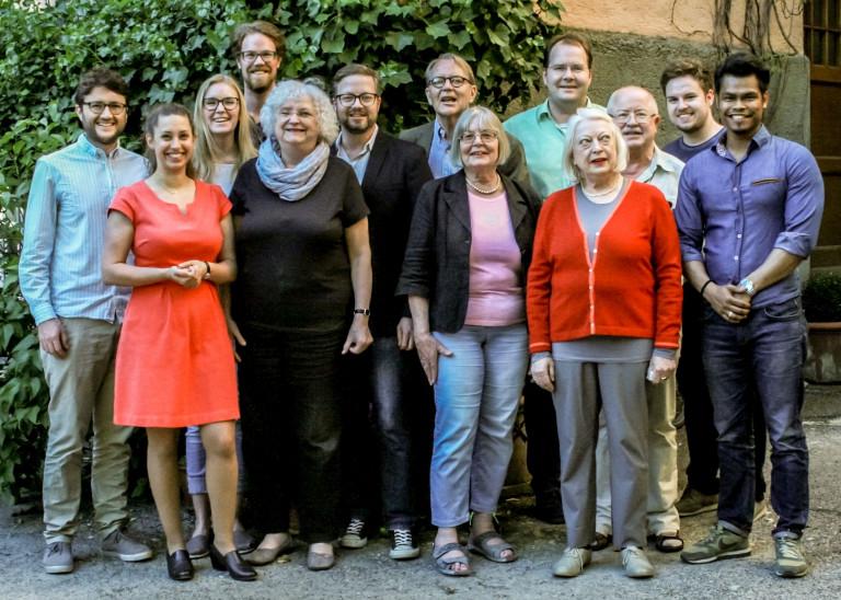 Vorstand 2017 Gruppenfoto